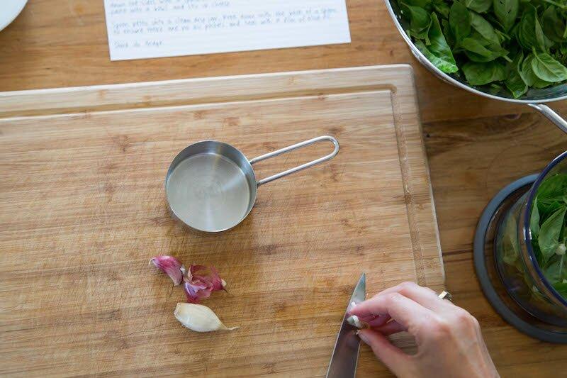 pesto garlic